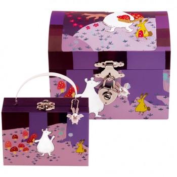 boite bijoux violette tradition jouet. Black Bedroom Furniture Sets. Home Design Ideas